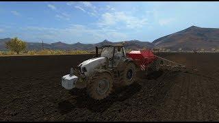 "Farming Simulator 17.""Mustang Valley Ranch"".Стрим в одно лицо#5"