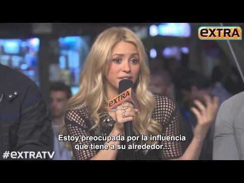 Adam Levine,Blake Shelton,Shakira & Usher en Extra!   The Voice (SUBTITULADO ESPAÑOL)