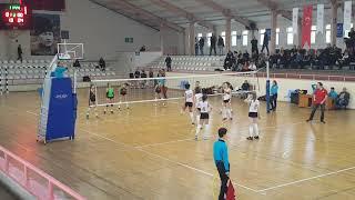 FENERBAHÇE - ECZACIBAŞI Küçük Kızlar Voleybol Maçı. 2.SET (22.12.2018)