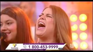 OLGA TAÑON CANTA ¨Creere¨EN EL TELETON U.S.A 2016