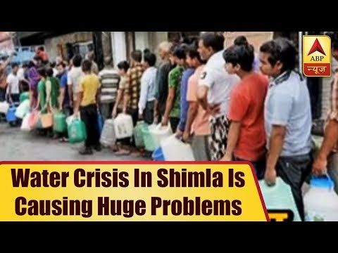 Shimla Water Crisis: Man Threatens To Commit Suicide  ABP