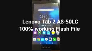 Lenovo Tab 2 A8 50lc Mtk Scatter Firmware Flash File 100 Working