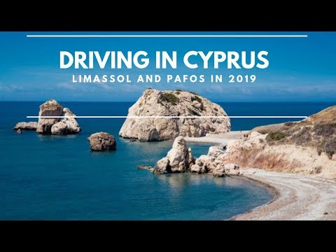 Driving in Cyprus 2019 - Limassol & Pafos