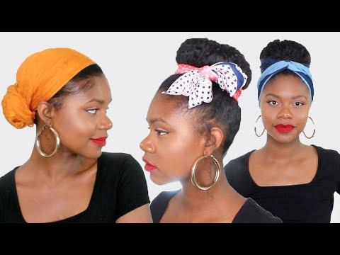 bonne réputation sélection spéciale de vente au royaume uni 5 TUTO COIFFURE AVEC FOULARD sur cheveux afro / crépus pour cet été