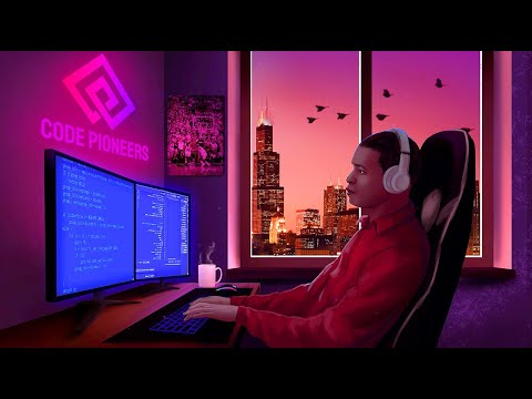 Coding in Chicago | 🎧  LoFi Jazz Hip-Hop [Code - Relax - Study]