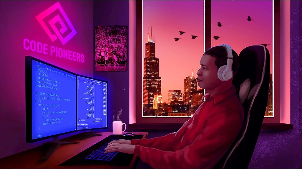 Download Coding in Chicago | 🎧  LoFi Jazz Hip-Hop [Code - Relax - Study]
