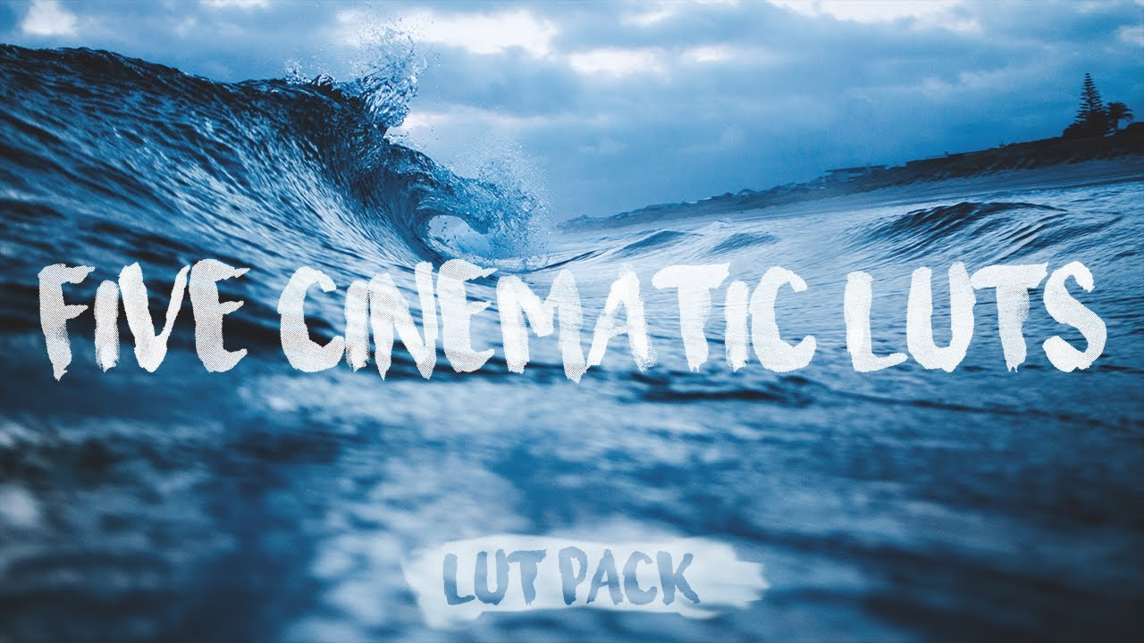 Lut Pack 5 Free Cinematic Luts Premiere Pro Final Cut Pro Ect
