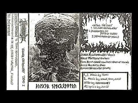 Abhorrence - Vulgar Necrolatry - 1990 - (Full Demo)