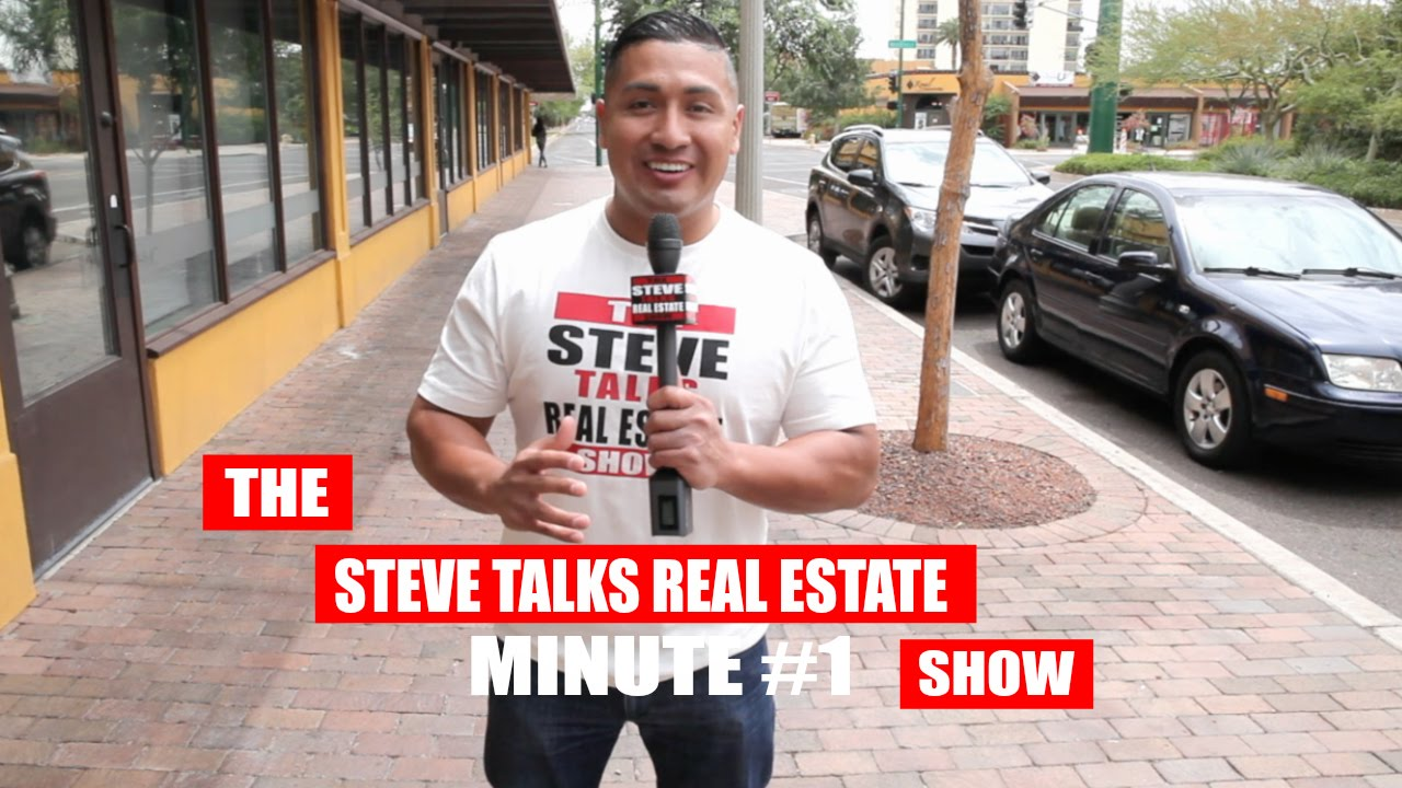 Steve Talks Real Estate Show MINUTE #1: SELLERS...PICTURES MATTER!