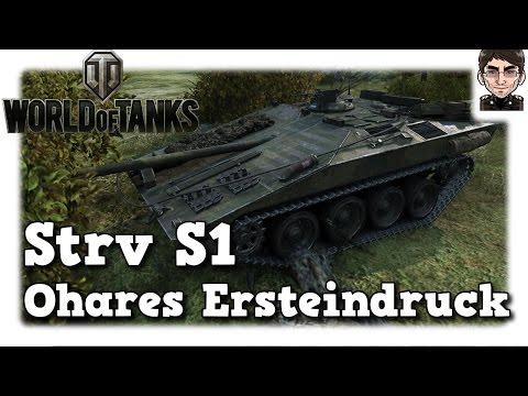 World of Tanks - Strv S1, Schweden premium Ohares Ersteindruck [deutsch | live | gameplay]