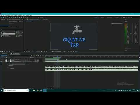 How to add and edit audio in After Effects CC