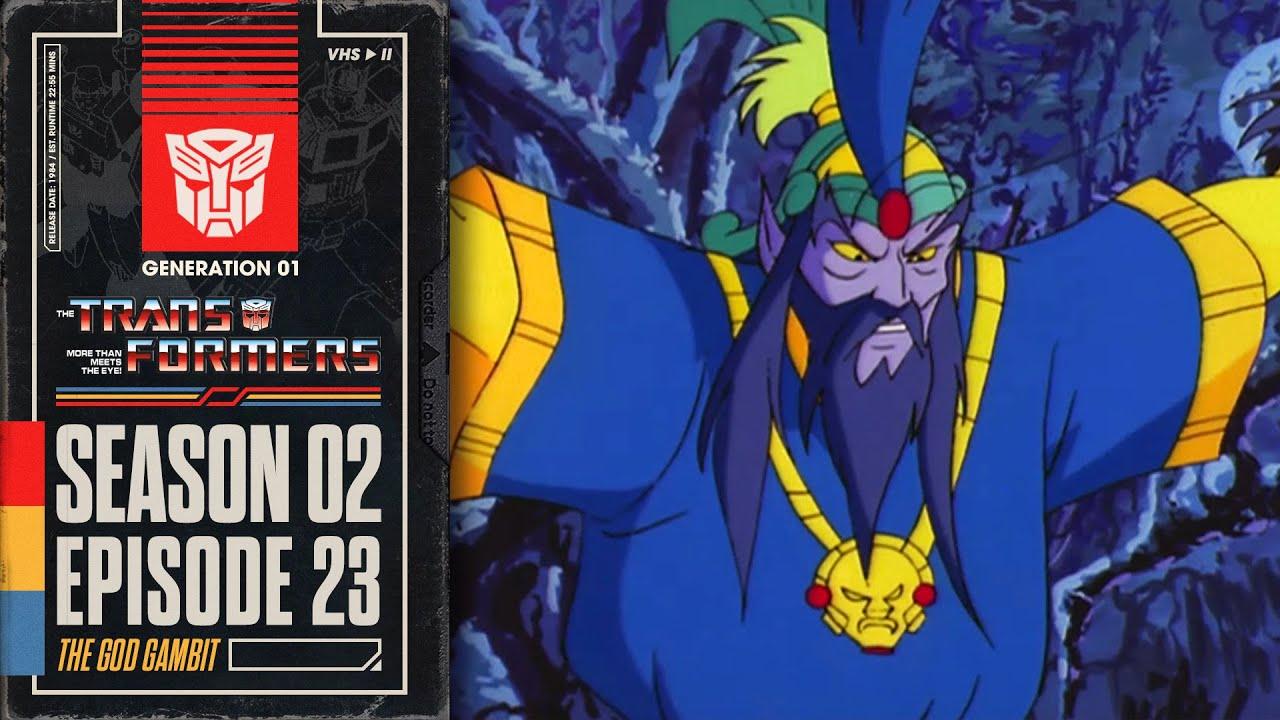 Download The God Gambit   Transformers: Generation 1   Season 2   E23   Hasbro Pulse
