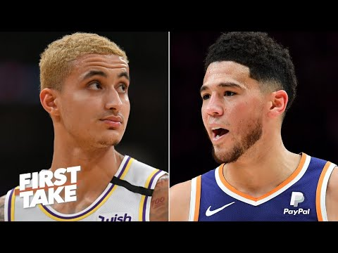 [First Take] Kyle Kuzma for Devin Booker? Stephen A. wants to see the Lakers make a trade
