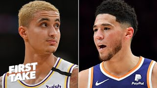 Kyle Kuzma for Devin Booker? Stephen A. wants to see the Lakers make a trade | First Take