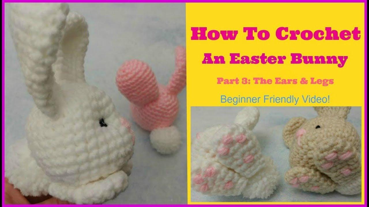 PDF Pattern Crochet Toy Cute Bunny Long Ears Amigurumi Pattern ... | 720x1280