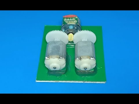 24V generator , amazing science project 2018 , nice idea