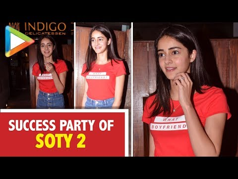 Ananya Panday Celebrates the Success of SOTY 2 With Her Friends Mp3