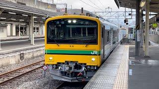 【GV-E197系 性能確認試運転】GV-E197系TS01編成(フル編成)が高崎駅に到着するシーン(試9833D)2021.3.22