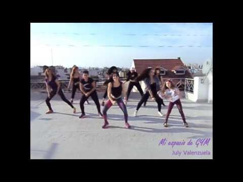 Hasta abajo  - Yandel - ZUMBA Fitness | July Valenzuela ZIN