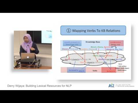 Derry Wijaya: Building Lexical Resources for NLP