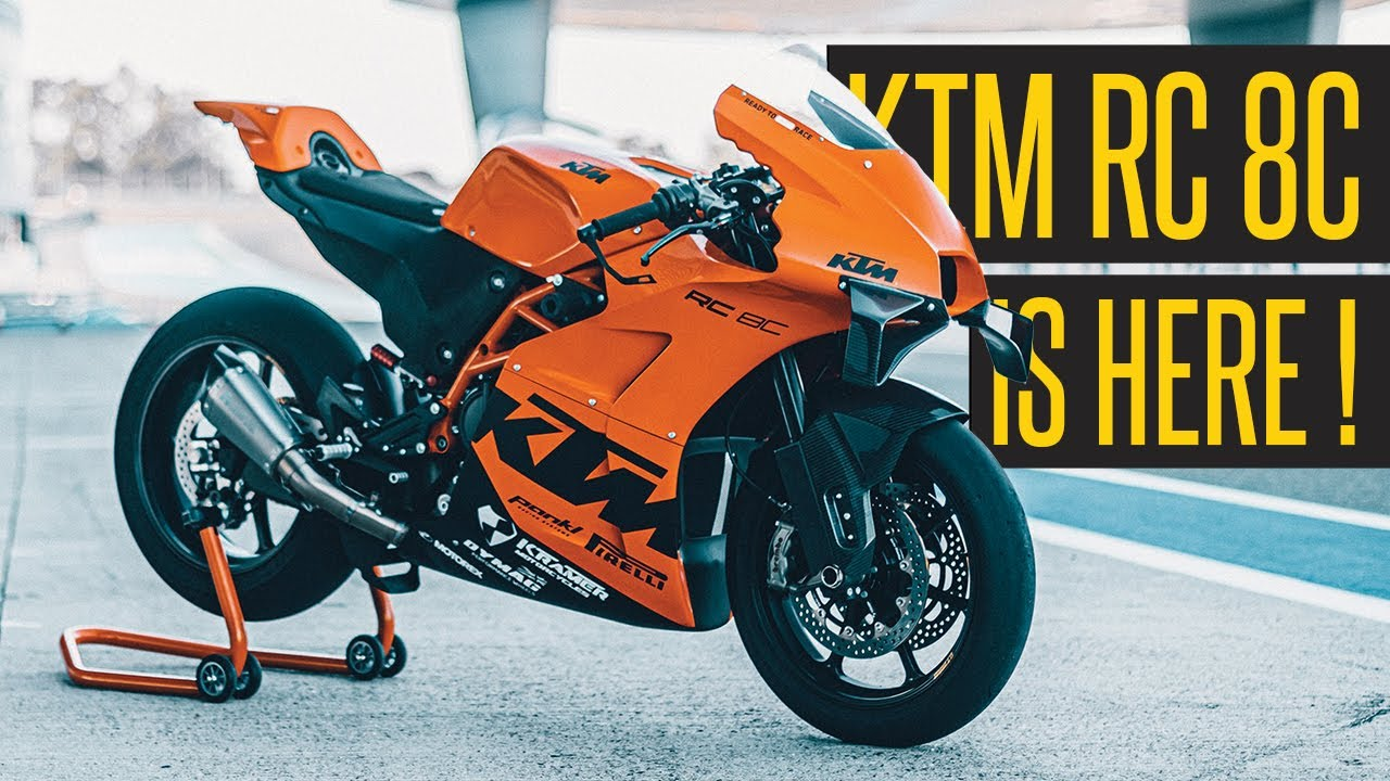 8 KTM RC 8C // First Impression $8,8 Ultimate Track Bike