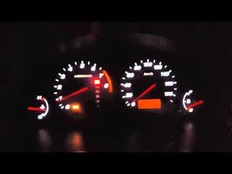Пересвет приборной панели Honda CRV 2003 (видео) фото с полей