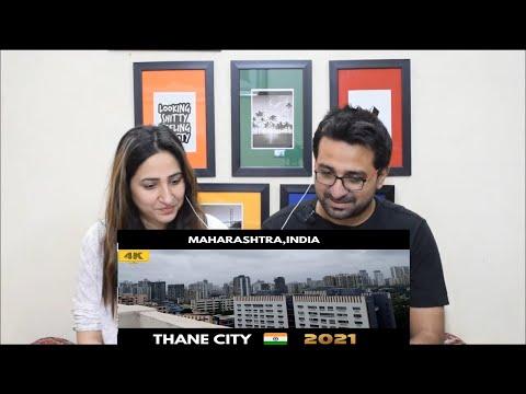 Pakistani Reacts to Thane City | Thane Skyline | Maharashtra smart city | ठाणे शहर | Thane 2021