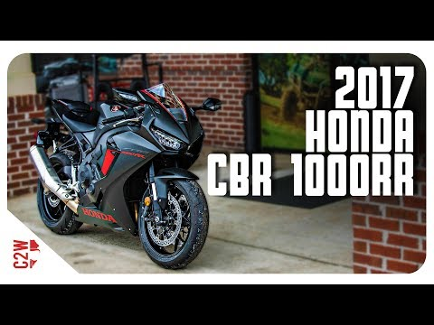 2017 Honda CBR 1000RR   First Ride