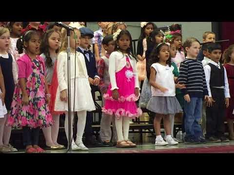 Anvita Konda @ McKenzie School Concert - Song: A Million Little Snowflakes