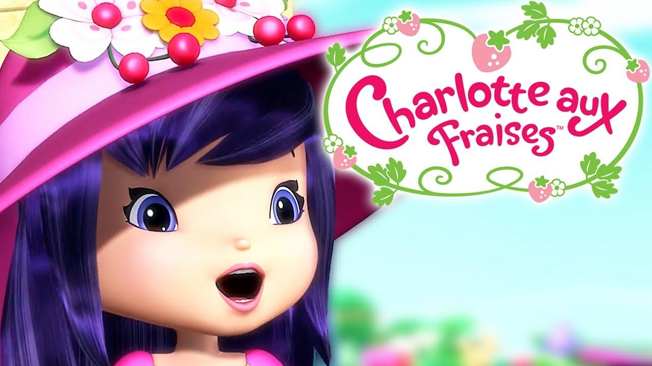 Charlotte aux fraises le parc pour chiens dessin - Charlotte aux fraises dessin ...