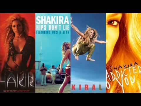 Shakira - Megamix (Mr Alexander Mashups Remixes)
