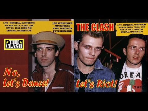 The Clash - Live In Wichita Falls, Texas 1983 (Full Concert!)