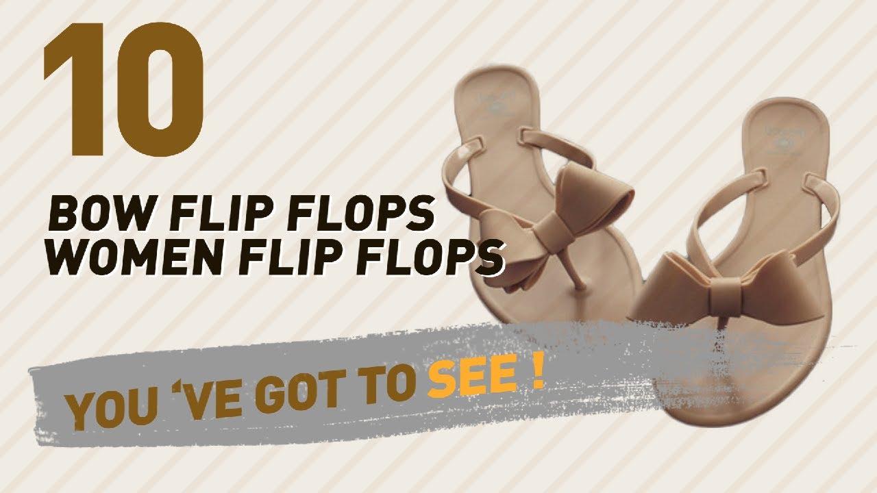 d3eaf38283a09 Bow Flip Flops Women Flip Flops    New   Popular 2017 - YouTube