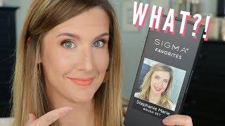 Announcement! My Sigma Beauty Favorites Set!