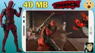 Download Deadpool game in Hindi 2018 | android By Krishna Tech Guide.