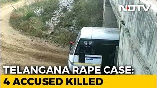 Hyderabad Rape Case - All 4 Accused In Rape, Murder Of Telangana Vet Killed In Encounter: Police