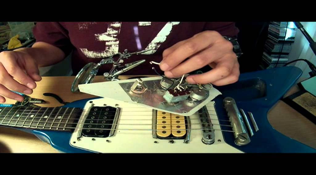 how to wire a broken guitar output jack youtube. Black Bedroom Furniture Sets. Home Design Ideas