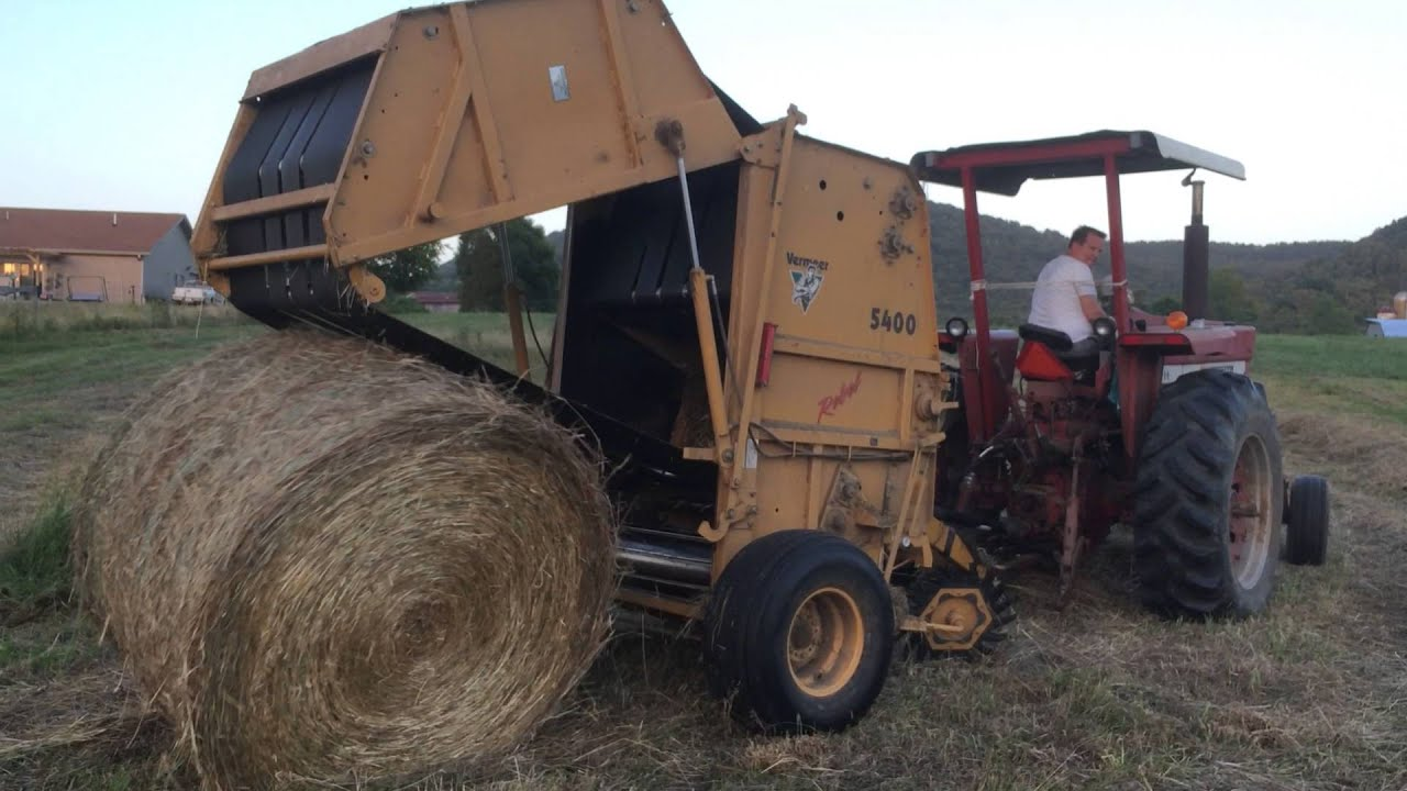 Vermeer 5410 Rebel Baler Parts Diagram Trusted Wiring 766 Ih Baling Hay With A 5400 And Youtube Rh Com 504m