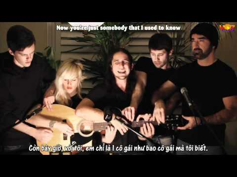 [Vietsub+Kara] Somebody That I Used to Know - Walk off the Earth (Gotye - Cover)