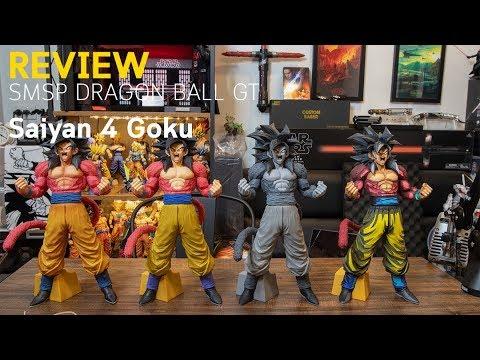 Banpresto Dragon Ball GT SMSP Manga Dimensions Super Saiyan 4 Son Goku Figure
