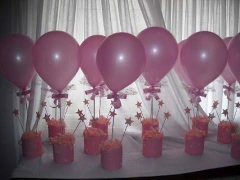 como hacer adornos con globos para fiestas infantiles YouTube
