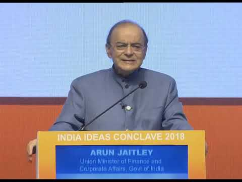 Full Speech: Finance Minister Arun Jaitley speaks at 'India Ideas Conclave' in New Delhi