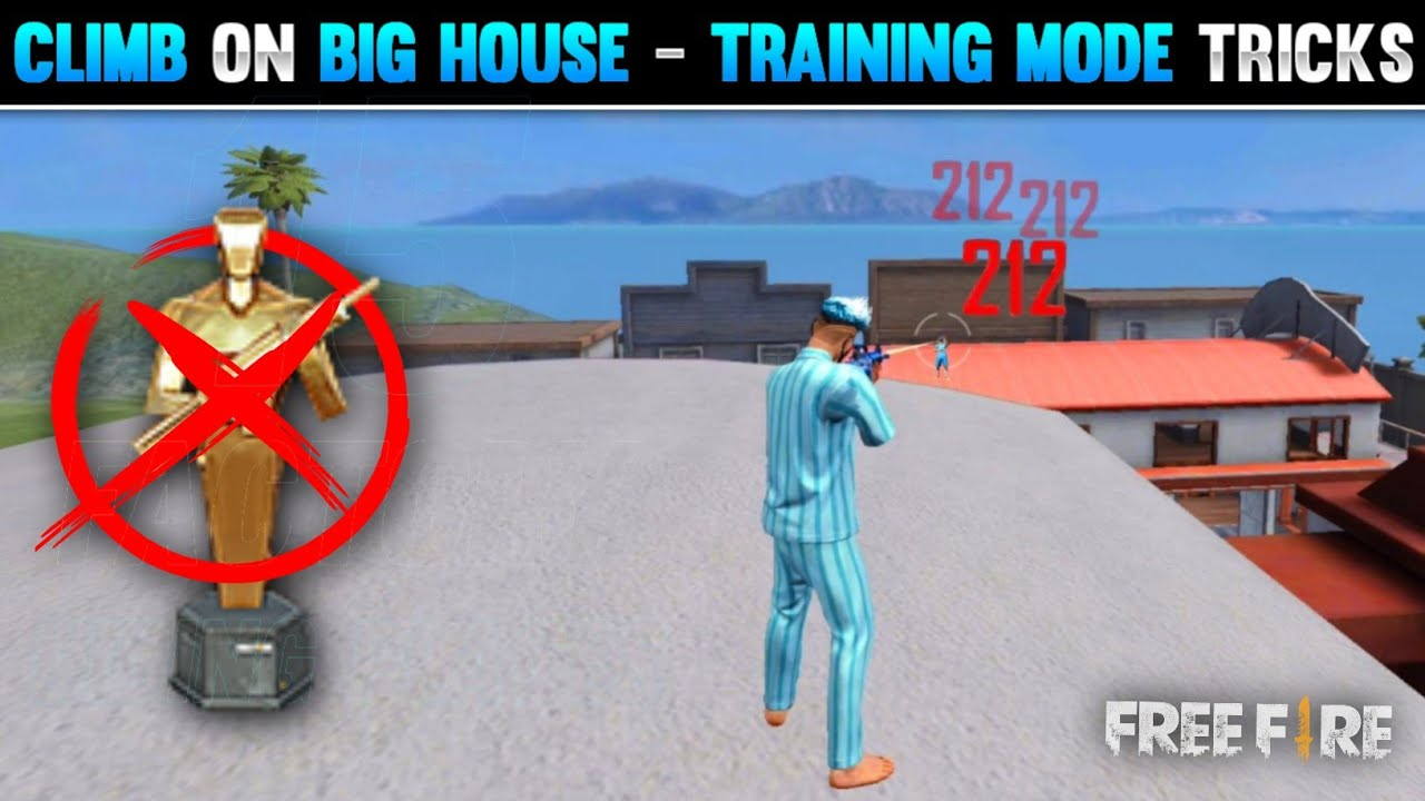 Download FREE FIRE NEW SECRET PLACES IN TRAINING GROUND | SECRET PLACES WITHOUT DECOY GRENADE - FREE FIRE