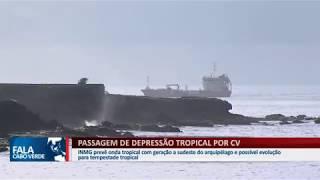 TEMPESTADE TROPICAL APROXIMA-SE DO ARQUIPÉLAGO