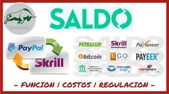 💸 SALDO.com.ar    Como Comprar Saldo PAYPAL, SKRILL, NETELLER, PAYEER, UALA, UPHOLD ❓