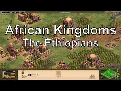 Aoe2 HD African Kingdoms: Ethiopians, New Civilization - 동영상