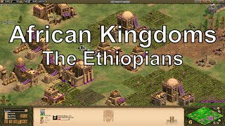 Aoe2 HD African Kingdoms: Ethiopians, New Civilization