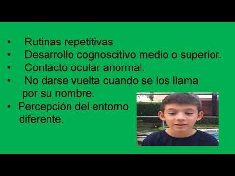 Características de Asperger