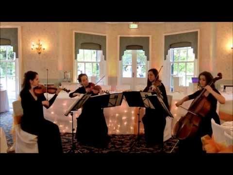Wedding String Quartet  Can in D Best Versi Johann Pachelbel