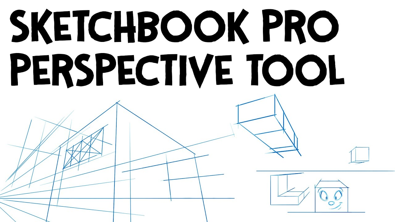 How to create grid in sketchbook pro - How To Draw With The Sketchbook Pro Perspective Tool